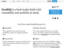 Tablet Preview of feedhq.org
